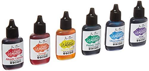 Contact USA KO Liquid Watercolor Brht 6pc