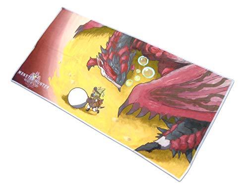 Monster Hunter World Handtuch - Rathalos und Palico Egg Mission * 70x35cm offiziell lizensiert