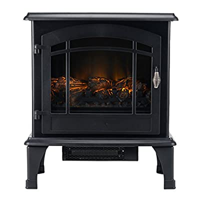 "Beldray EH0982BQ Panoramic Electric Stove, 1500 W, 20"", Black"
