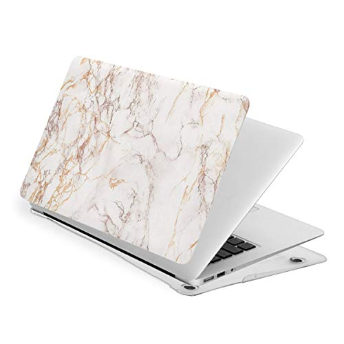 Rose Gold Marble MacBook Pro 15 Inch Case 2019 2018 2017 2016 Release A1990 A1707,Plastic Hard Case Shell Cover for Apple MacBook Pro 15 Inch with Touch Bar
