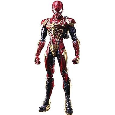Square Enix Marvel Universe Spider-Man Variant Bring Arts Action Figure, Multicolor