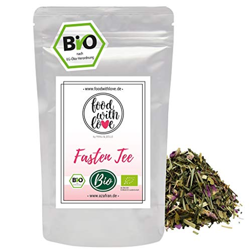 Azafran BIO Fasten Tee, Sencha Kräutertee für eine Fasten Tee Kur 250g