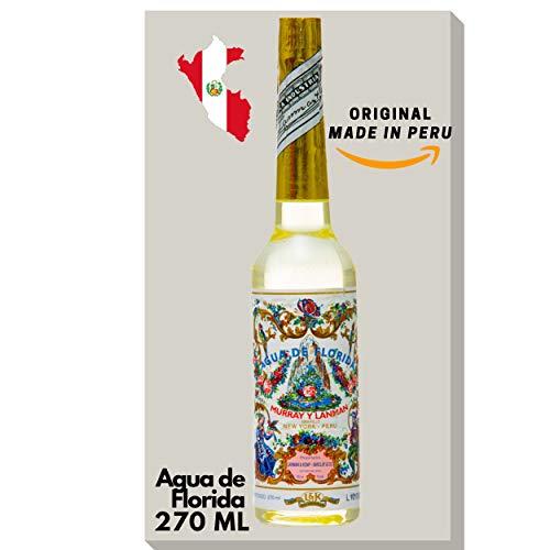 AKTION Agua de Florida 270 ml Spirit Florida Water - original Murray & Lanman aus Peru, für Mann und Frau. Ein Cologne, ein Duft das erfrischend und belebend auf unsere Sinne wirkt.