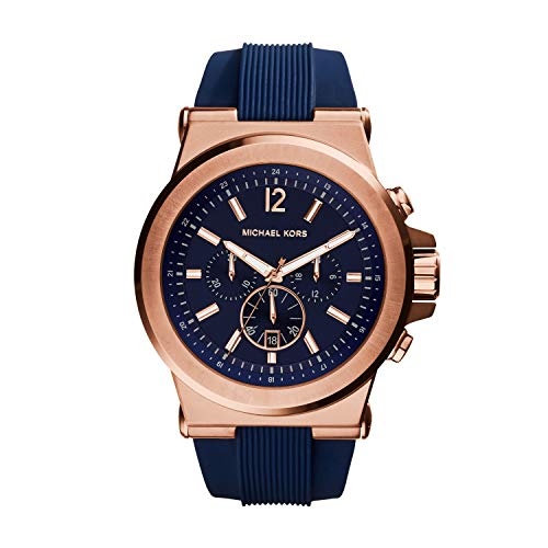 Michael Kors Men's Dylan Rose Gold-Tone Watch...