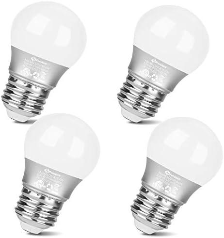 Fansteck LED Refrigerator Light Bulb 5W Equivalent 40W E26 Base Waterproof Fridge Bulb Daylight product image