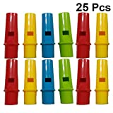 Toyvian 25pcs flauti di pan forma cilindrica strumento musicale per i bambini...