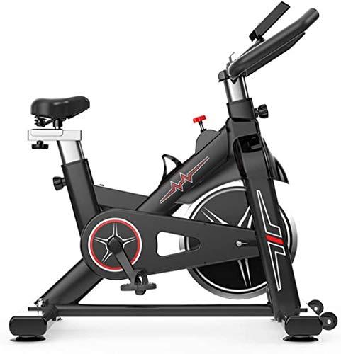 Bicicleta de ejercicio para interiores y ciclismo con asiento ajustable y resistencia, cómodo cojín para bicicleta de ciclo para entrenamiento cardiovascular en casa