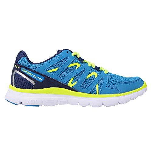 Karrimor Duma Kinder Junior Jungen Laufschuhe Turnschuhe Sportschuhe Sneaker Blue/Navy 4 (37)