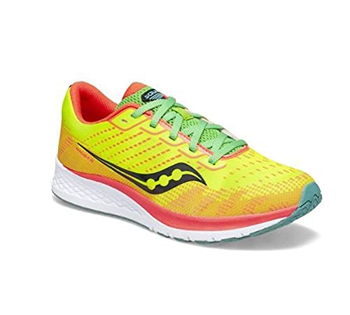 Saucony Zapatillas Running Junior Ride ISO 2 A3 Neutra Amarillo, SK263232, amarillo, 1Y