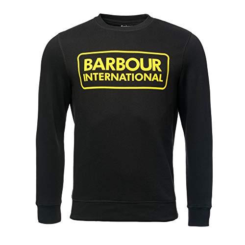 Barbour International Large Logo Sweatshirt Black-L