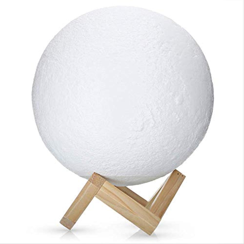 Nachtlicht 3D Print Mond Nacht Licht Dimmbare LED Nacht Lichter Wiederaufladbare Mond Lampe 2 Farbe ndern Touch Schalter