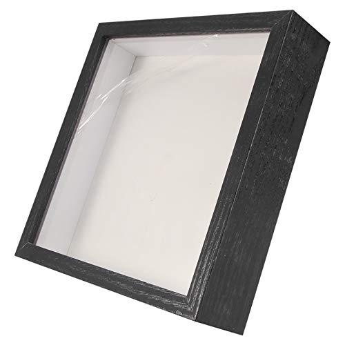 CLISPEED Shadow Box Vitrine Glas Shadowbox Frame 3D Display Geheugen Doos Voor Specimen Medailles Bewaarde Verse Bloem…