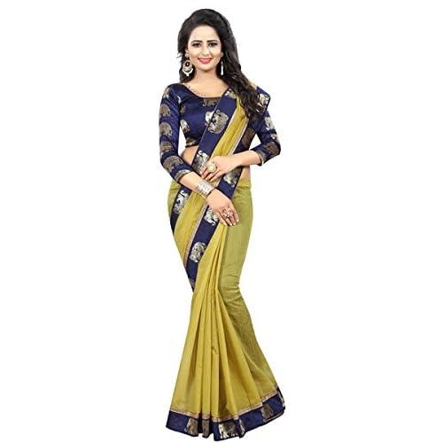Craftsvilla Women S Cotton Kalamkari Saree With Blouse Piece