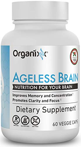 Organixx - Ageless Brain- Powerful Brain Health Support - 60 Capsules - Boost Memory Power, Clarity and Focus, Re-Energize Brain Cells, Promote a Balanced Mood (Best Mental Ray Render Settings)
