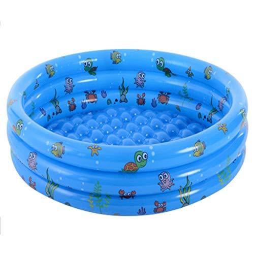 GJXJY Piscinas Inflables Piscinas Inflables Piscinas Hinchables para Niños,Piscinas Hinchables Infantiles,Piscina Inflable Infantil Balcon para Niños, Adultos, Jardín Y Al Aire Librel0.8m(2.6ft)-Blue