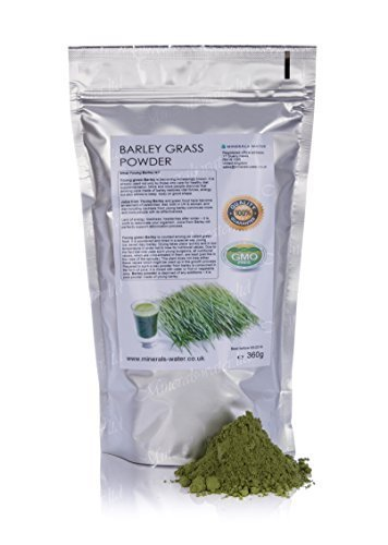 360g Barley grass powder YoungGMO Free!Vitamin EnergyDetox DietWeight lossMake sure to checkout with Minerals-water.ltd to get what's on the picture