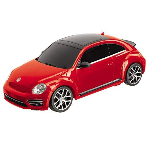 Mondo Motors - VW New Beetle - Modell 1:24 - bis 20 km/h Geschwindigkeit - Kinderauto - 63540