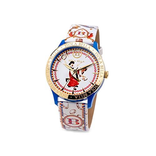 Reloj Isla Bella Canterini de plástico, acero y piel 40000053