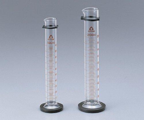 メスシリンダー 100ml(硬化ガラス)