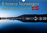 Erlebnis Norwegen: Narvik bis Tromsø (Wandkalender 2021 DIN A4 quer): Verschiedene eindrucksvolle Aufnahmen aus Norwegen. (Monatskalender, 14 Seiten )