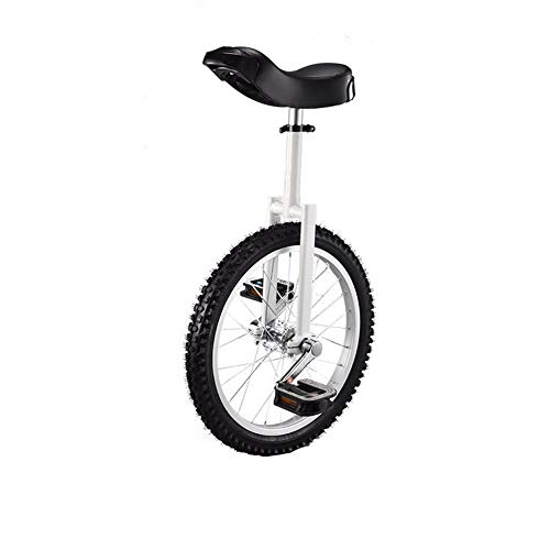 Best Price with Alloy Wheel Unicycle 20 Inch-Cream White Body Silver Wheels (Size : 31.49 inch)