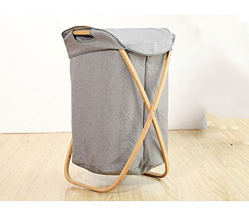 Yajun Wäschekorb Faltbare Laundry Baskets Multifunktion Schmutziger Wäschesammler Hohe Kapazität Einfache Montage Einfach Und Elegant Langlebig,White