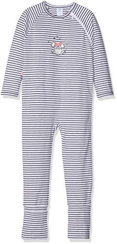 Sanetta Baby-Jungen Overall Schlafstrampler, Beige (Sand Melange 1952.0), 62