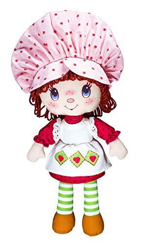 Stawberry Shortcake 12321 Erdbeer-Plüschpuppe, zum 40. Jahrestag, Mehrfarbig