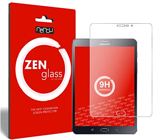 ZenGlass Nandu I Protector de Vidrio Flexible Compatible con Samsung Galaxy Tab S2 8.0 LTE I Protector de Pantalla 9H