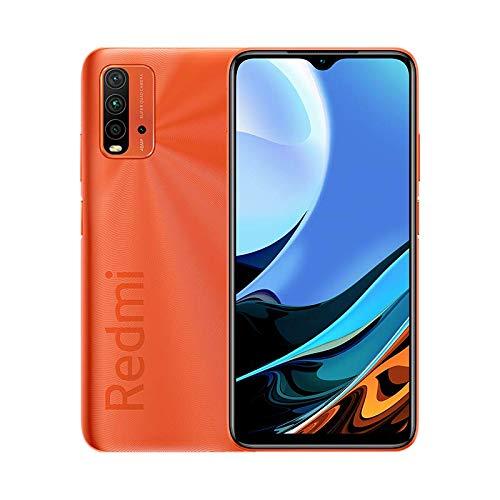 """Xiaomi Redmi 9T con NFC Cámara cuádruple de 48 MP con IA 6000 mAh (typ) Carga rápida de 18 W Qualcomm® Snapdragon™ 662 Pantalla de 6.53"""" FHD+ Dot DRO 4GB+64GB, Amanecer Naranja"""