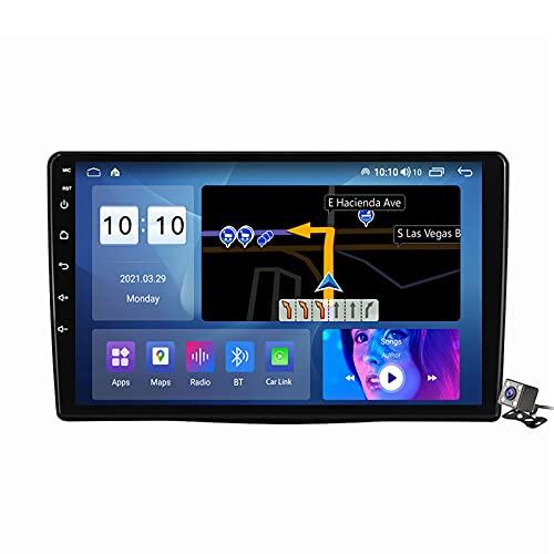 autoradio 500l 9 Pollici Autoradio 2 DIN Android 11 per Fiat 500L 2012-2017 Supporto GPS FM AM RDS/Bluetooth/Carplay Android Auto/Voice Control/Controllo del Volante/Sistema Multimediale