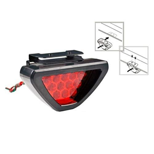 Luz antiniebla trasera LED roja de 12 V para JDM ie Pulsar Glanza Skyline Impreza 200SX