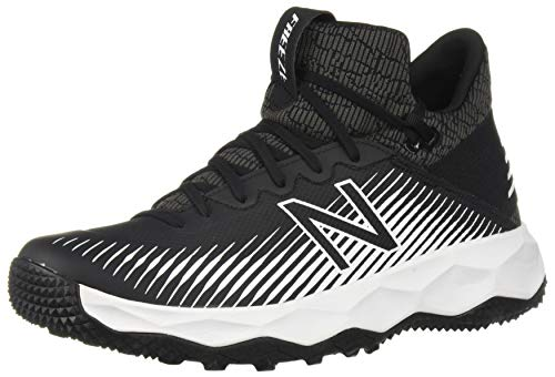 New Balance Men's FreezeLX 2.0 Turf Lacrosse Shoe, Black, 9 M US