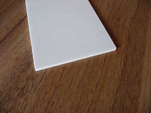 Platte Plexiglas® XT, 500 x 500 x 3 mm, weiß, Zuschnitt PMMA weiß glänzend alt-intech®