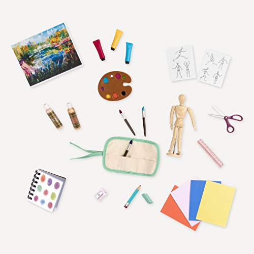 Our Generation by Battat- Art Class Supplies- Toy, Doll & Accessories for 18' Dolls- Ages 3 Years & Up