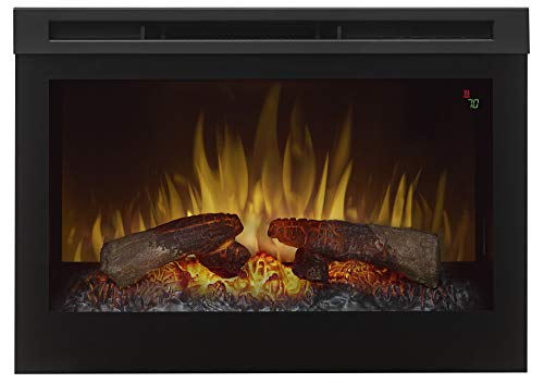 Dimplex Electric Fireplace, Black