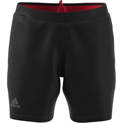 adidas Pantalón Corto de Tenis Barricade para Hombre, Hombre, Pantalones Cortos, F1807M111, Negro, XL