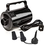Electric Air Pump for Inflatable Pool Toys - High Power Quick-Fill Air Mattress Inflator Deflator Pump for Pool Float Raft Airbed with 3 Nozzles, 320W, 110V AC, 1.6PSI, Air Flow 26CFM