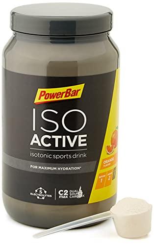 PowerBar Isoactive Orange 1320g - Bebida Deportiva Isotónica - 5 Electrolitos + C2MAX