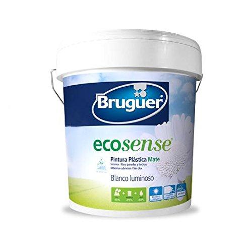 Bruguer 5133372–Vernice plastica ecologico Bruguer Bianco Opaco ecosense