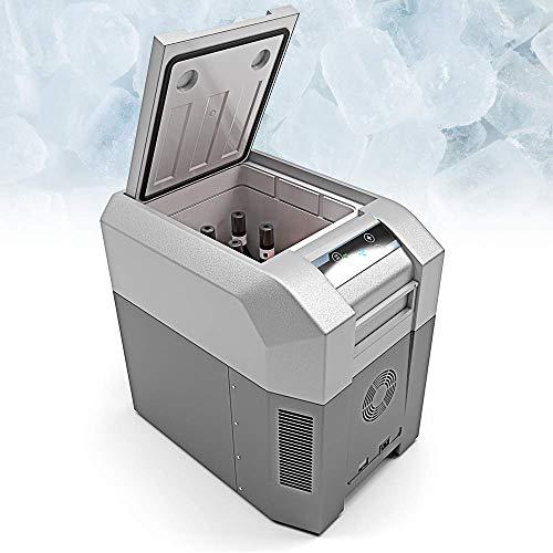Bluefin Mini Frigorifero Congelatore con Compressore Portatile (24/33/42/60/80 L) Elettrico, con Cavo CA o CC | per Cibo, Bevande, Vino | Ideale per C