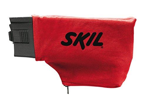 Skil 1210AA Ponceuse à Bande (650W, 76 x 457 mm, Centrage automatique de la Bande, Sac à Poussière, Bande abrasive)