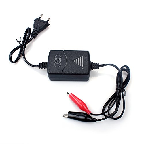 Cargador inteligente 1300mA para batería de plomo de 12V (SLA), con protección contra sobrecarga de cortocircuito, carga constante de tres etapas de tensión constante y chorreo