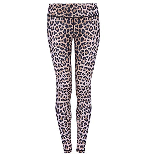Yoga Pants For Women,Women Fashion Leopard Print Fitness Leggings High Waist Elastic Gym Slim Yoga Trousers Professional Running Quick-Drying Pants Sportswear