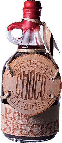 Ron Especiado Choco (Schokolade) - Spiced Rum - 1 x 1.00l - inkl. Geschenkverpackung & Cocktailvorschlag