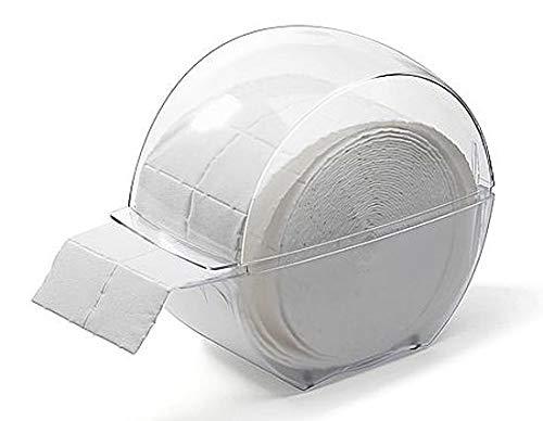 Spenderbox für Zellstofftupfer Zelletten, Tupfer Zellettenbox, Zellettenspender