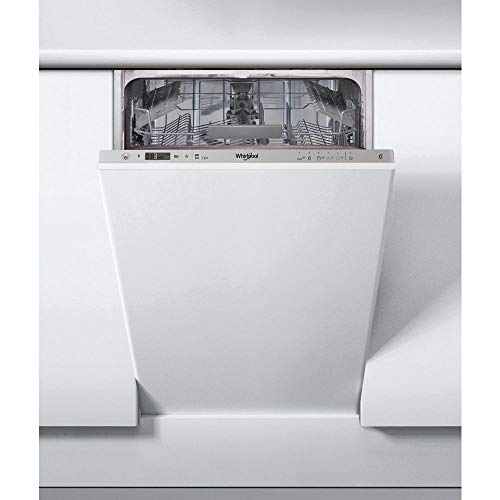 Whirlpool WSIC 3M17 C - Lavastoviglie slim 45 cm, 10 Coperti, Classe A+