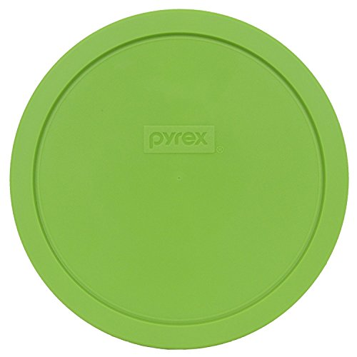 Pyrex 7402-PC Round 6/7 Cup Storage Lid for Glass Bowls (2, Green)