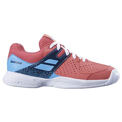 Babolat Unisex Pulsion All Court JR Tennisschuhe, Pink/Sky Blue, 38 EU