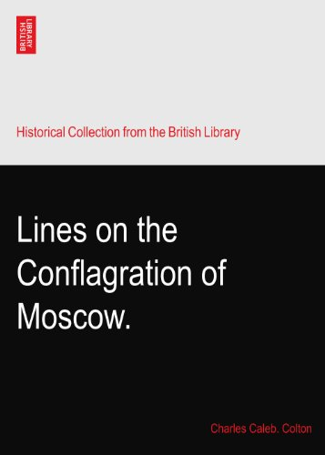 Lines on the Conflagration of Moscow.
